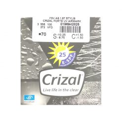 Tròng Kinh Essilor Crizal Forte 1.67 AS
