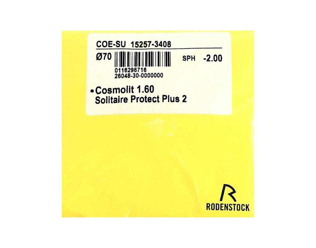 Tròng Kính Rodenstock Cosmolit 1.60